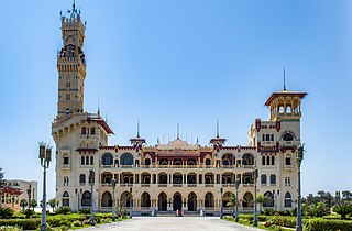Montaza Palace Architectural structure in Alexandria, Egypt