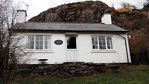 Alfred Bestall - Bestall's cottage in Beddgelert