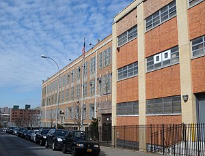 Alfred E. Smith Career and Technical Education High School - Image: Alfred E Smith HS 151 E151 St jeh