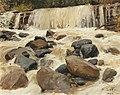 Alfred Zoff - A River Dam.jpg