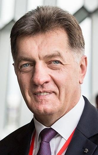 2016 Lithuanian parliamentary election - Image: Algirdas Butkevičius 2015