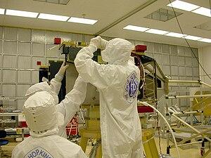 Imaging spectrometer - Alice ultraviolet imaging spectrometer on New Horizons