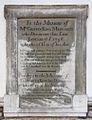 All Saints, Nassington - Wall monument (geograph 2466488).jpg
