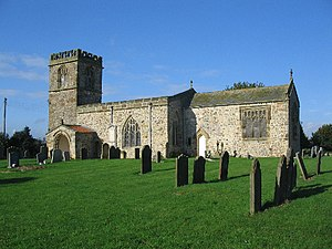 Barmston, East Riding of Yorkshire - All Saints Church, Barmston