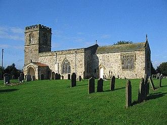 Barmston, East Riding of Yorkshire - All Saints Church, Barmston
