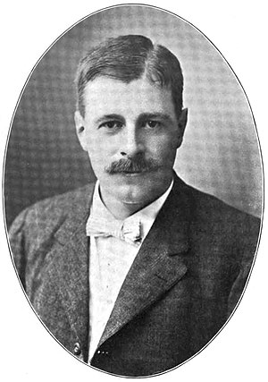 Allen Hazen - Allen Hazen, President of the New England Water Works Association, 1911