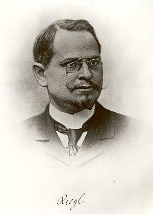 Stilfragen - Alois Riegl, ca. 1890