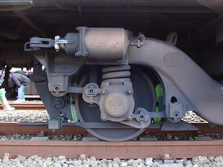 Watt's linkage train suspension Alstom link diameter 762mm FS075.jpg