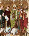 Altargemälde Hl Laurentius u a Heilige Oberschwaben um 1500.jpg