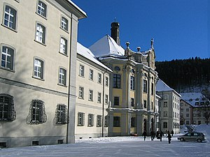 Gymnasium (Germany) - The Kolleg St. Blasien in a former Benedictine monastery