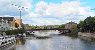 Fulda (river) head river of the Weser in Hesse, Germany