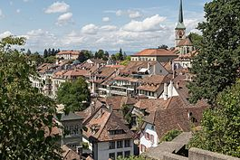 Old city of Burgdorf