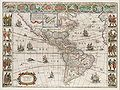 Americae nova Tabula - Map of North and South America (Willem Blaeu, 1665).jpg