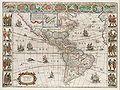 Americae nova Tabula - Map of North and South America (Willem Blaeu, 1665).jpg
