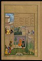 Amir Khusraw Dihlavi - A Virtuous Woman Placates the King by Plucking Out Her Eyes - Walters W62440A - Full Page.jpg