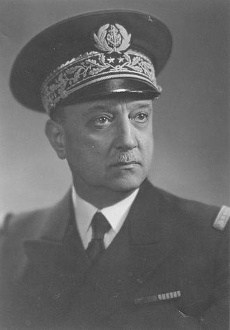 Henri Bléhaut - Counter admiral Henri Bléhaut (1940)