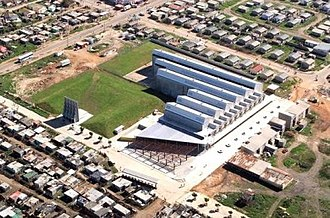 New Brighton, Eastern Cape - Image: An aerial view of Red Location Museum in New Brighton township near Port Elizabeth