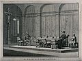 An interrogation room of the Spanish Inquisition with two pr Wellcome V0041642.jpg