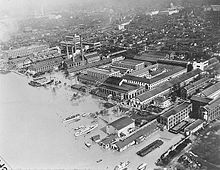 DC floods at Navy Yard, March 1936.