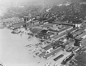 Pittsburgh flood of 1936 - Washington, D.C. experienced floods, including at Navy Yard on the Anacostia River.