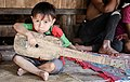 Anak Muda bermain alat tradisional di Sumba Timur, NTT, Indonesia.jpg