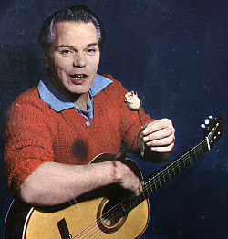Anders Börje på EP-omslag omkring 1960