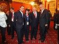 Andrés Segovia, Julia Ortega y Fernando Bustamante, con el Presidente de la Asamblea Nacional de Québec, Jacques Chagnon, durante la recepción ofrecida por el Parlamento de Québec en la 127 Asamblea (8146251559).jpg