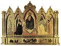 Andra orcagna, redentore e santi, cappella strozzi in santa maria novella, florence, 1357, tavola, 296x160 cm.jpg