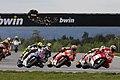 Andrea Dovizioso leads the group 2014 Brno.jpeg