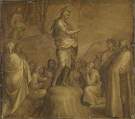 Predigt Johannes d. T. (Kopie nach)