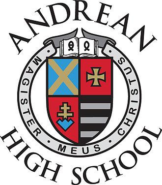 Andrean High School - Image: Andrean High School Crest