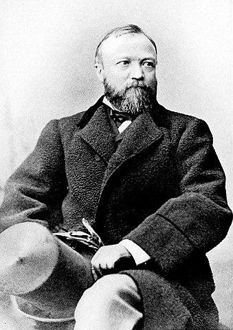 Эндрю Карнеги. Приблизительно 1878 год.