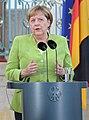 Angela Merkel in Meseberg, Germany August 2018 (cropped).jpg