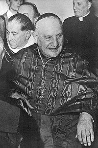Angelo Giuseppe Roncalli Patriarch of Venezia (1953-1958).JPG