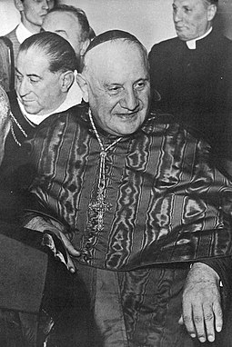 Roncalli as Patriarch of Venice Angelo Giuseppe Roncalli Patriarch of Venezia (1953-1958).JPG