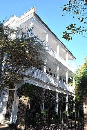 Charleston single house - Image: Ann Peacock House