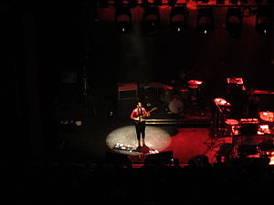 Anna Calvi - Calvi performing at the O2 Shepherds Bush Empire in November 2011