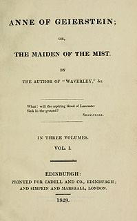 novel by Walter Scott