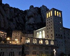 Anochecer en Montserrat.jpg