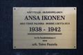 Ansa Ikonen plakett Sandelsgatan 4, Tölötorg 01.png