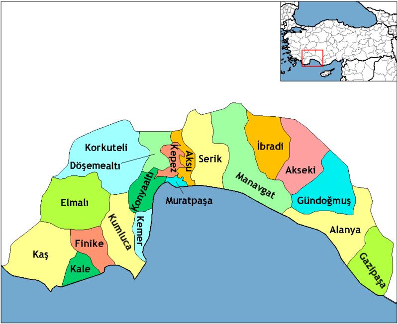 Kemer Nerede - Antalya Kemer