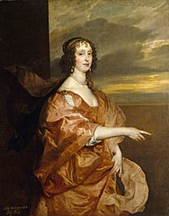 The Hon. Anne Boteler, Countess of Newport, later Countess of Portland (c.1610 – 1669)