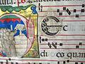 Antifonario da pasqua al corpus domini, 1450s, cod. bessarione 3, 03 arte calligrafica.JPG