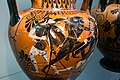 Antimenes Painter - ABV 269 37 - Herakles and the amazons - Herakles with Iolaos and Athena - København NCG 2653 - 02.jpg