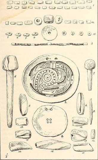 Shell money - Antiquities of the southern Indians, particularly of the Georgia tribes (1873)