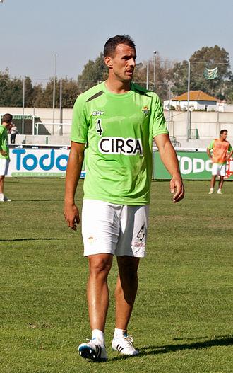 Antonio Amaya - Amaya training with Betis in 2011