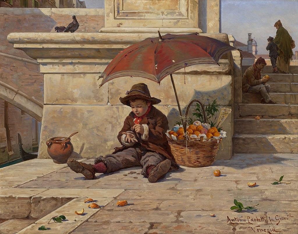 Антонио Ротта, ребенок в Venice.jpg