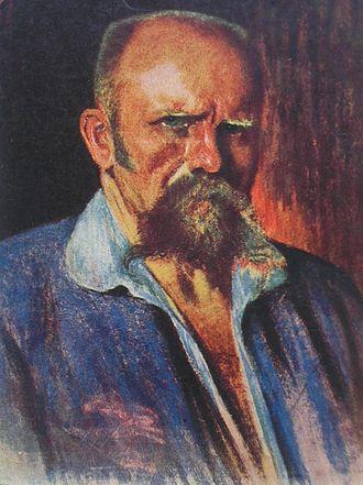 Ants Laikmaa - Ants Laikmaa's self-portrait, 1920.