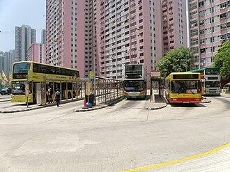 Bus terminus - Ap Lei Chau Estate Bus Terminus