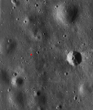Tranquility Base - Image: Apollo 11 landing site 5076 h 3